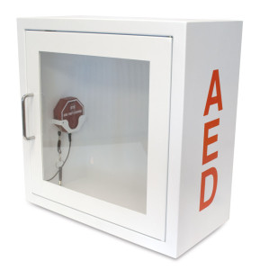AED Storage Cabinet – Alarmed