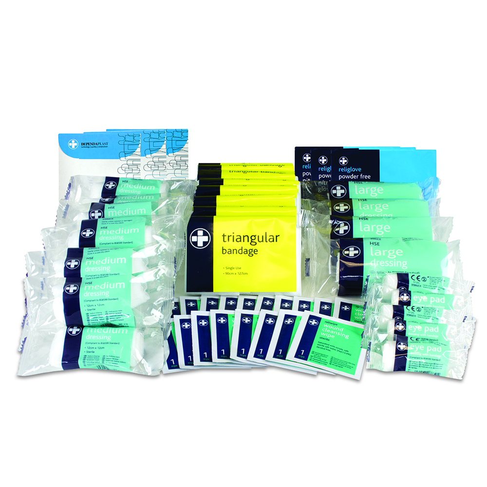 50 Person HSE First Aid Refill