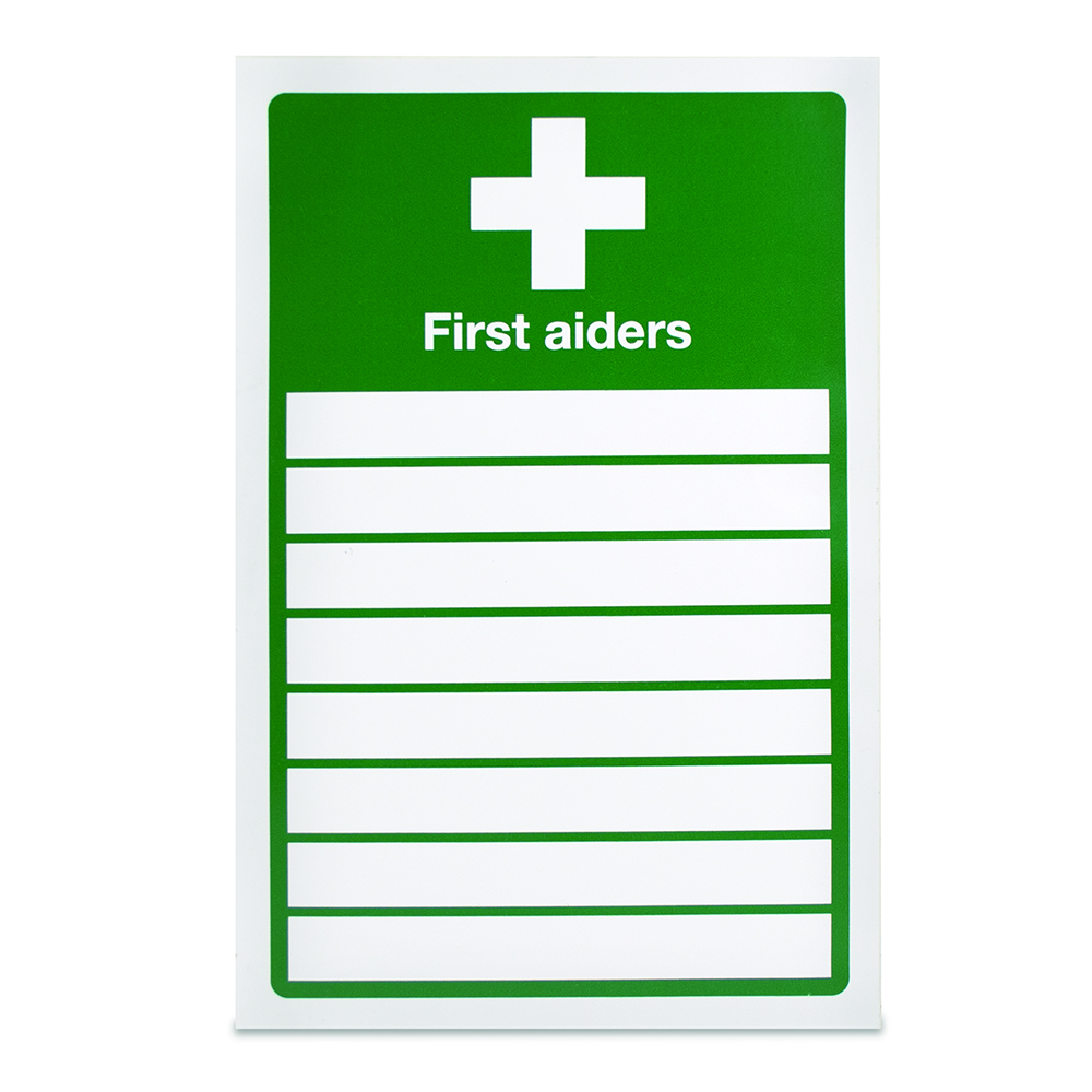 Appointed First Aider Sign
