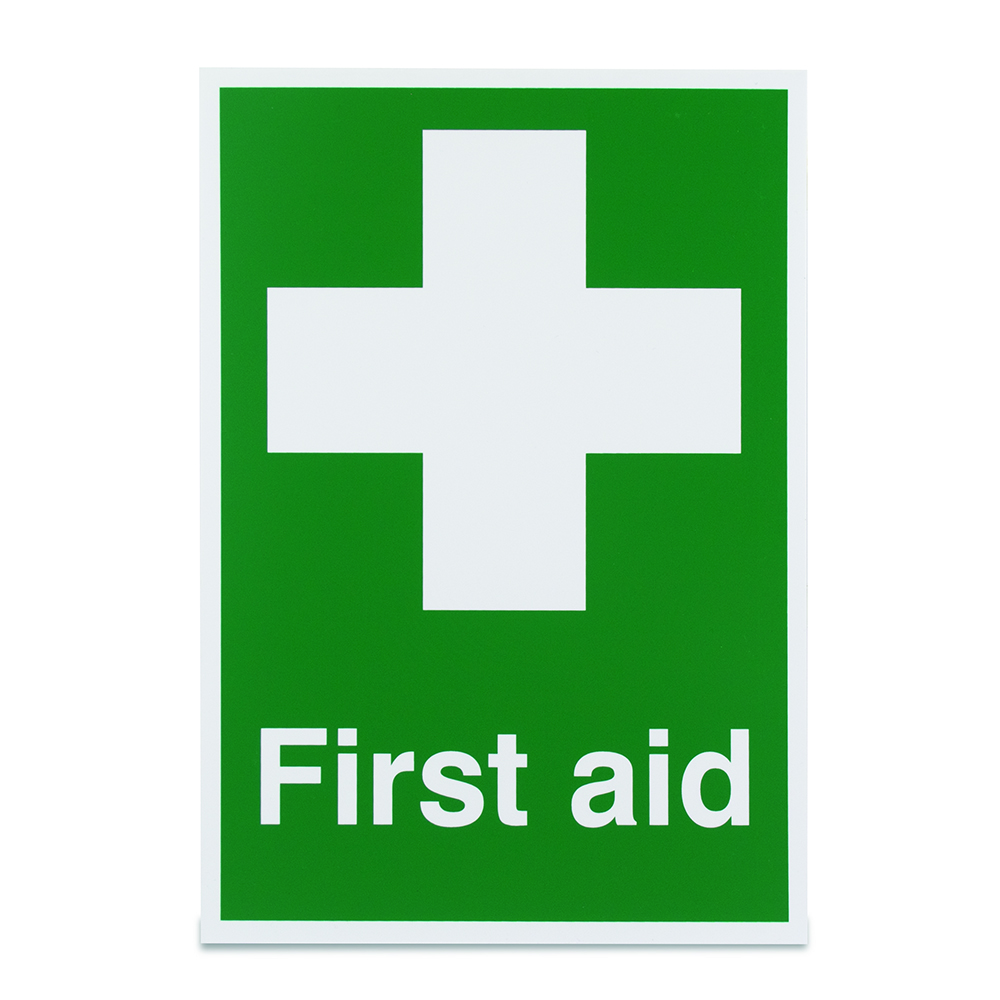 First Aid Sign Vinyl
