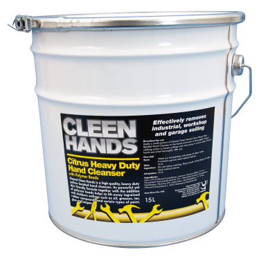 Cleen Hands Citrus Heavy Duty Hand Cleanser - 15 Litres