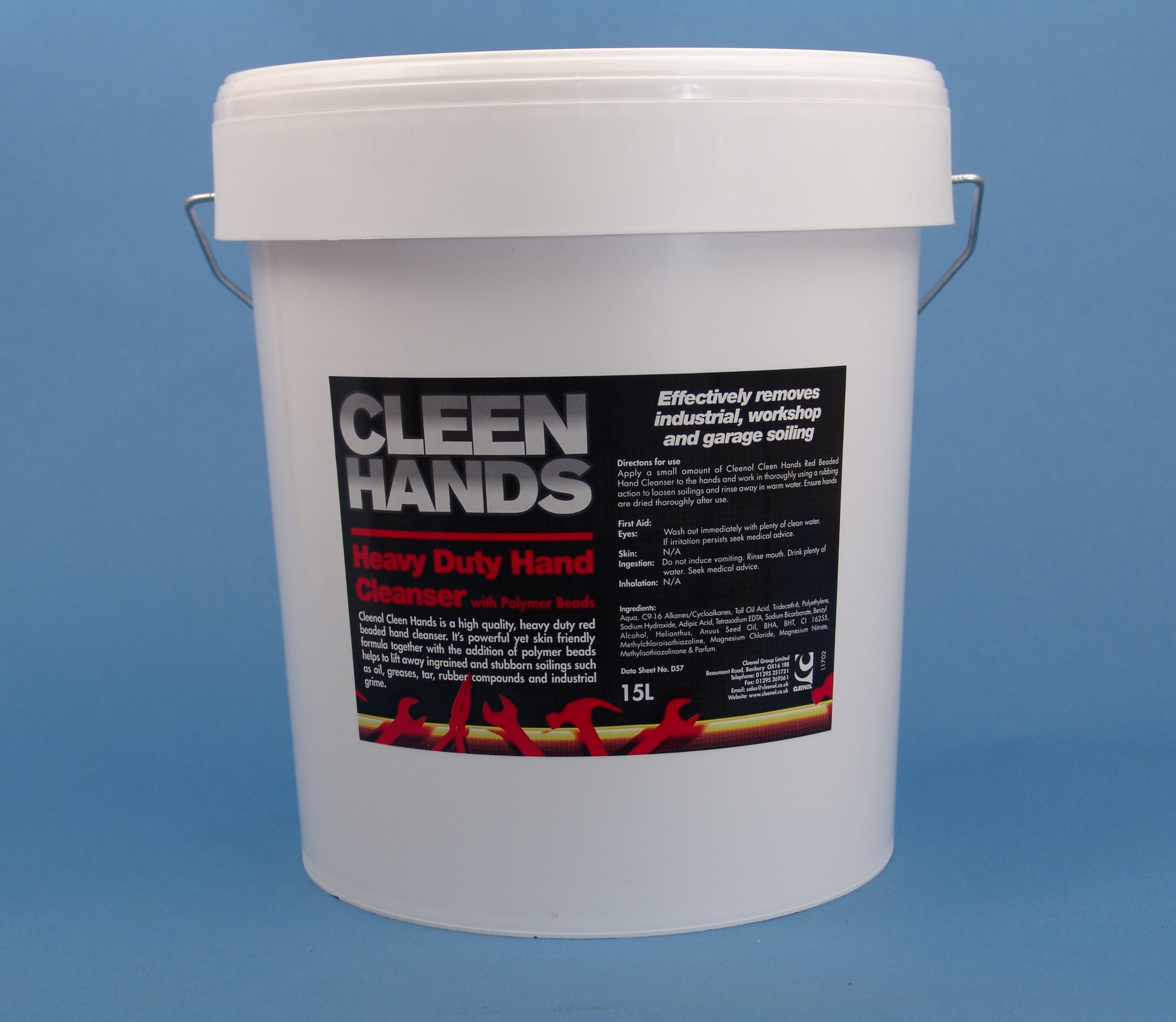 Cleen Hands Heavy Duty Hand Cleanser (red Beaded) - 15 Litres