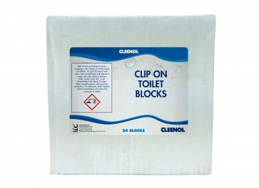 Clip on Toilet Blocks x 12