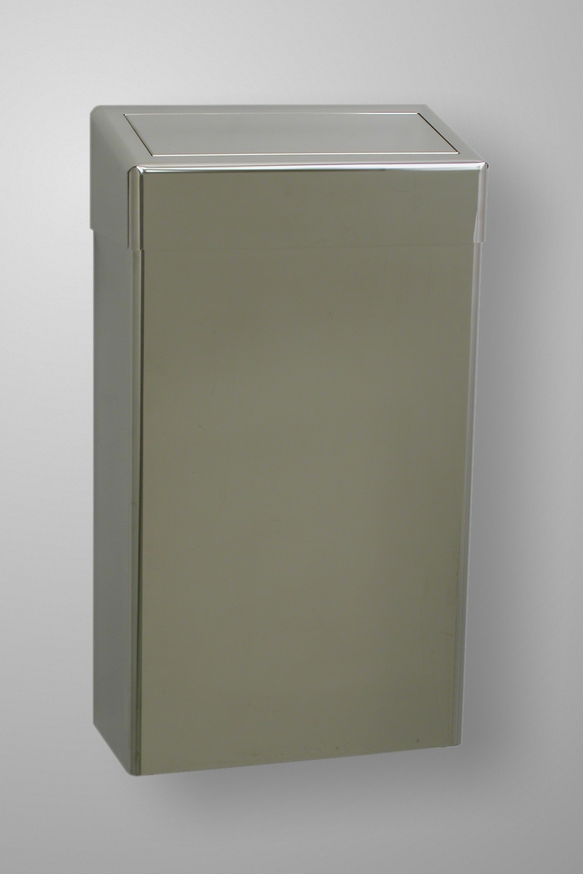 STAINLESS STEEL SLIM LINE WASTE BIN
